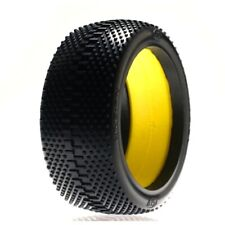Losi LOSA7770R 1/8 King-Pin Tires(2) Red-Compound with Foam: 1/8 Buggy