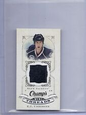 2008-09 UPPER DECK CHAMP'S R.J. UMBERGER MINI THREADS UD JERSEY CT-UM