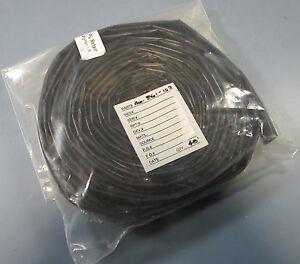 Raychem 45ft of RT555-3/4-0-SP, 2:1 Black Heat Shrink Tubing New