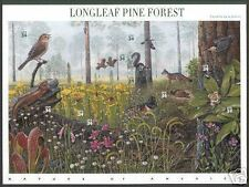 THE FIRST 11 NATURE OF AMERICA STAMP SHEETS