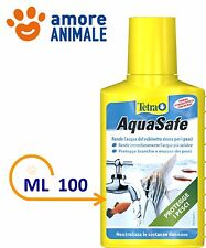 Tetra AquaSafe 100 ml - Biocondizionatore - Rende l'acqua più sicura per i pesci