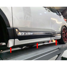Painted Color For Honda CR-V CRV 5th Mugen Look Side Skirt 6PCS 2019