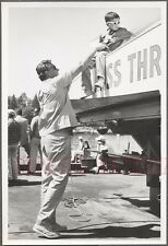 Vintage Photo Father & Son Miss Thriftway Boat Hydroplane Racing Seafair 749039