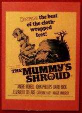 HAMMER HORROR - Series 2 - Card #160 - The Mummy's Shroud - Elizabeth Sellars