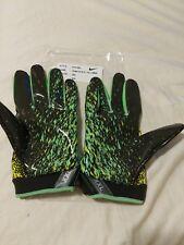 Nike Vapor Jet NFL Combine XXL Football Gloves, Green/ Black PGF493 Rare