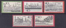 Germany 1106-10 MNH OG 1973 Germany Town Set (See Description)
