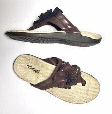 311e8cc5d2cd Orthaheel Talia Flower Thong Flip Flops Arch Support Comfort Sandals US 9  EUR 40