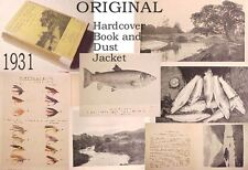 1931 FISHING TROUT SEATROUT WORM WET FLY:casting line tackle net rod river loch
