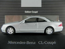Herpa/MB b6 696 0604 MB CL coupé (1999) in chalcedonblaumet. 1:87/h0 Nuovo/Scatola Originale/PC