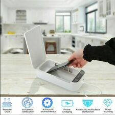 Portable UV Cell Phone Sterilizer Box Aromatherapy Watch Sanitizer Disinfection
