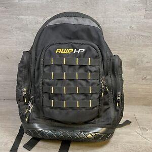 AWP HP Heavy Nylon Ballistic Waterproof Tool Bag Storage Padded Straps Backpack