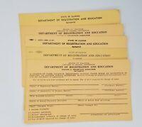 Lot 5 Barber Shop Department Registration And Education Springfield Illinois JJ