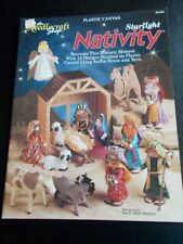 Starlight Nativity Plastic Canvas Pattern Book  ~ The Needlecraft Shop ~ 1992