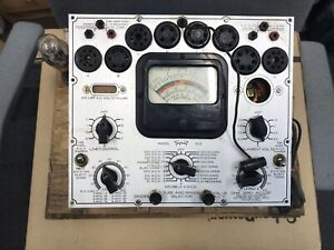 Triplet 1503 Tube Tester Project