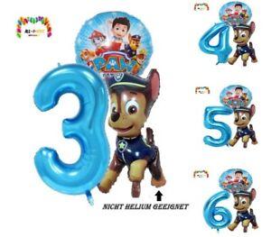 Paw Patrol Ballons XXL - Kindergeburtstag Party Geburtstag Folienballon Helium C
