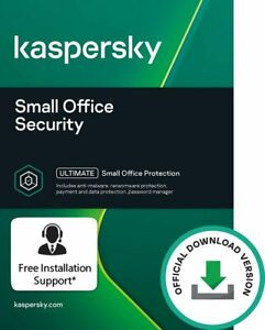 Kaspersky Small Office Security 10+1 - 10 PCs 1 File Server 10 Mobile 1 Year