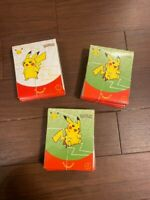 New Pokemon Card 25th Anniversary Limited to McDonald's US Set of 30 Packs I6643
