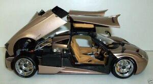WELLY 1/18 - 11007MB-GOLD PAGANI HUAYRA - GOLD