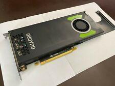 DELL NVIDIA QUADRO P4000 0TWPW0 8GB GDDR5 X4 DP PCIE 3.0 X16 Video Graphics Card