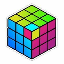 80's Throwback Rubik's Cube Sticker