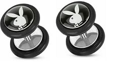 Body Accentz® Earrings Rings Fake Playboy Taper Cheater Plug 18 gauge - Sold as
