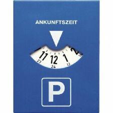 HP PFEFFERKORN PARKSCHEIBE MIT UHR PARKING DISC WITH CLOCK QUARZ-UHR
