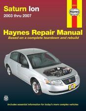 Repair Manual-1 Haynes 87011 fits 03-04 Saturn Ion