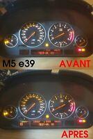 Réparation affichage compteur BMW série 5 e39
