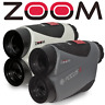 ZOOM FOCUS X GOLF LASER RANGEFINDER +SLOPE SWITCH & PIN VIBRATE MODE / NEW 2020