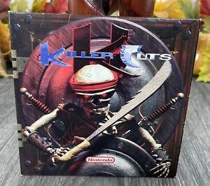 Nintendo Killer Cuts Original CD Video Game Soundtrack Music EUC Techno