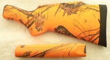 Remington Pump Model 6 760 7600 7615 Mossy Oak Blaze Orange Camo Stock Set #1