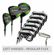 Callaway Edge 10-Piece Golf Club Set Left Handed 10.5 Regular