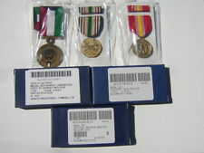 Medal Set Of 3 Liberation Of Kuwait/Sw Asia Service/National Defense New In Box