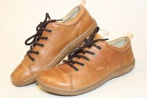 Birkenstock Germany Made Arran Womens 38 7 Brown Leather Sneakers Low Tops Shoes