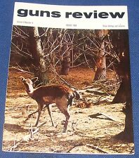 GUNS REVIEW MAGAZINE  AUGUST 1968 - HELICOPTER ARMAMENT/7.62 MM TARGET RIFLE