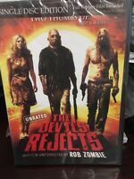 The Devils Rejects (DVD WS) ROB ZOMBIE DISC & ARTWORK ONLY NO CASE UNUSED CONDIT