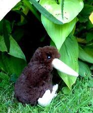 NEUSEELAND Stofftier mini KIWI sehr weich 13 cm  Glücksbringer auf der Reise