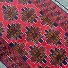 Handmade Afghan Kazakh 100% Camel Hair Geometric Patterns Tribal Design SALE!!!!