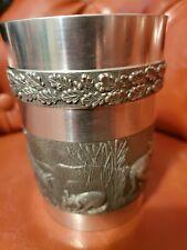 Mullingar Pewter Mug Celtic Made in IrelandForest Animals.