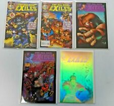 All New Exiles lot - 10 different NM - years vary