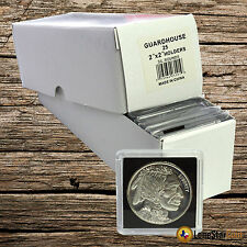 25 Guardhouse Snaplocks 2x2 Coin Holders for ROUNDS