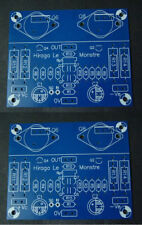 2PCS 15W Pure Sound Class A Stereo Amplifer PCB Reference Hiraga Le Monstre Amp
