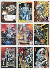Silver Sable, Marvel card lot