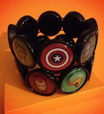 Superhero Handmade Bracelet - Featuring the Avengers and Loki