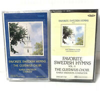 New Cassettes Sealed Favorite Swedish Hymns The Gustavus Adulphus College Choir