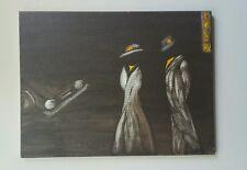 Shall We-, Acrylic , fantasy, surrealism, medium, original, signed