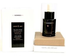 KORRES Black Pine Active Firming SLEEPING OIL 1.01 Oz NEW BOX FREE SAME DAY SHIP