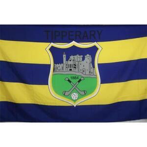 Tipperary GAA Official 5 x 3 FT Flag - Crested Irish Gaelic Football Hurling
