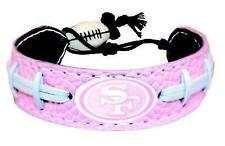 Gamewear 4421402249 San Francisco 49ers Pink NFL Football Bracelet
