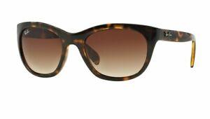 RAY BAN RB4216 Highstreet Gradient Sunglasses Brown